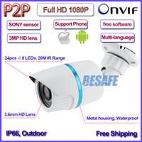 axis outdoor ip camera - P mini ip camera IMX322 Sensor MP outdoor ip cam Night Vision CCTV MP HD Lens Axis bracket H P2P ONVIF