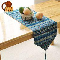 asian table runners - Original textile home furnishings Table Runner Southeast Asian style tableware dining table flag bed flag table bar custom flag