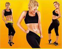 cellulite pants - Slimming Shapers Pants Thermo Wear Capri Anti Cellulite Short Weight Loss S XXXL Sauna Fit Waist Training Corset Legging