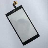 Wholesale Price Black Original OGS Front Panel For Acer Liquid Z500 Touch Screen Digitizer Glass Replacement