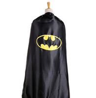 batman hats for sale - Hot Sale Cosplay Capes Black inch cm Batman Cape For Adults With Hat DHL