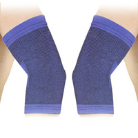 Wholesale NEW Blue Black Sports Wear Stretchy Sleeve Elbow Support Brace