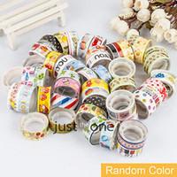 adhesive paper roll - Washi Paper Roll DIY Decor Scrapbooking Sticker Paper Masking Tape Adhesive