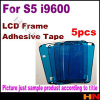 Wholesale for Samsung Galaxy s5 i9600 LCD Screen Frame Repair Sticker M LCD adhesive Tape