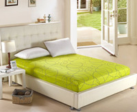 Wholesale pieces cotton mattress cover bedding cover bed cover single queen king size colors option
