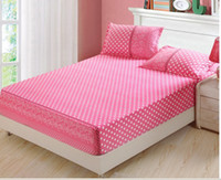 Wholesale new design bed fitted cover fashion contracted generous cotton printing fitted cover size m m