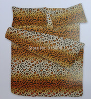 Wholesale Cheap Leopard Stripe cm Bed Mattress Cover Set Mattress cover cm cm cm Pillowcase cm cm