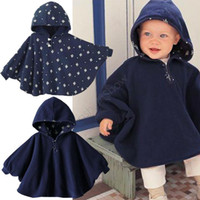 amp sleeve - Spring amp amp Autumn Baby Cloak Two sided wear colors Baby cape High quality infant baby outerwear