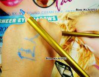 beautiful eye liner - PRO Beautiful Satin Bright Diamond Blue Eye Liner Pencil Stick Long Full Size