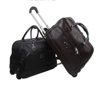 Wholesale Luxury High Quality Waterproof Wheeled Carry On Travel Luggage Bag With Large Capacity For Men And Women