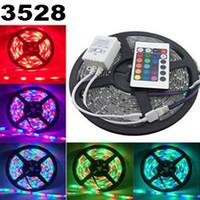 Wholesale m roll leds W V waterproof led strip light RGBW RGB colores luces tiras iluminacion impermeable cinta luz navidad