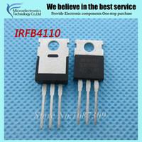 Cheap Wholesale-10pcs free shipping IRFB4110 FB4110 B4110 100V, 3.7mO, 180A, 370W FET 100% new original quality assurance