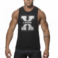 Wholesale GAT28 New M XXL Mens Muscle Tank Top Bodybuilding Workout Gyms Tank Top Boxing Jersey