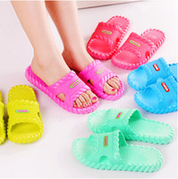 ladies slippers - pair women s sandals color summer beach flip lady slippers women soft shoes flat casual men home indoor slipper