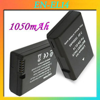 Wholesale 1050mAh Digital Camera Battery EN EL14 ENEL14 Lithium ion Battery for Nikon Coolpix P7000