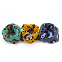 best leopard print scarves - Best Selling Warm Baby Kids Girl Boy Leopard Printed Snood Scarf Scarves Neckerchief Y