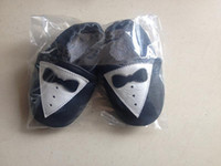 Wholesale New winter baby shoes baby first walkers Tuxedo design leather baby moccasins for baby boys months dropshipping