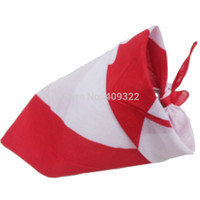 bandanas canada - hip hop bandanas for Male female men women head Scarves Canada Flag Bandana Scarf Wristband cm X cm quot X quot