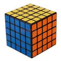 Wholesale ShengShou x5x5 Black White Puzzle Speed Cube x5