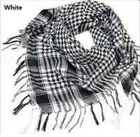 arab scarf for sale - Hot Sale Unisex Women Men Checkered Arab Grid Neck Keffiyeh Palestine Scarf Wrap Polyester Scarf Shawl For Men