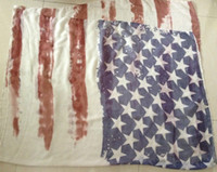 american flag crafts - New Coming Vintage American Flag Soft and Fashion Tie Dyed Craft USA Scarf Flag Scarf