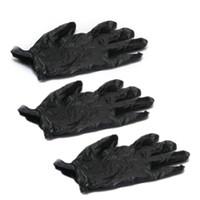 latex exam gloves - Nitrile Exam Gloves Tattoo Piercing Powder Latex Free Black with Box S