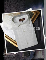 Wholesale New Style White Men Wedding Prom Groom ShirtsWear Bridegroom Man Shirt D52