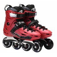 adult roller skates - Flying Eagle F6 Inline Skates Falcon Professional Adult Roller Skating Shoes Slalom Free Skating Good Quality As SEBA Patines