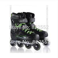 artistic breathable - Rollerblade Fusion X3 Adult Artistic Roller Skating Shoes Good Quality Slalom Braking Free Skating Athletic