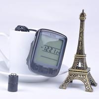 Wholesale Functions Waterproof LCD Backlight Bicycle Computer Display Bike MTB Riding Odometer Speedometer HM596W