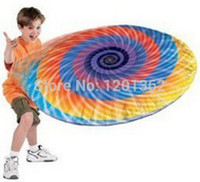 baby disc - Inflatable UFO Flying Disc Frisbee Aluminum Suspended Baby Children Outdoor Sport Toy CM