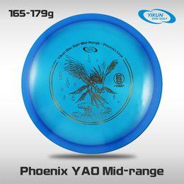 Wholesale Professional Yikun Disc Golf Mid range Phoenix Line YAO PDGA Approved Premium Plastic