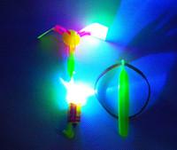 amazing baby toys - Amazing LED Light Arrow Rocket Helicopter Flying Toy LED Light Flash Toys baby Toys Party Fun Gift