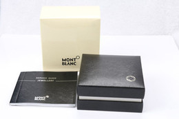 Wholesale New Hard Black Box for Cufflinks Pair Cuff links Display Package with Service Guide Book Classic Style