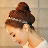 Wholesale New Fashion Rose Hairbands Vintage Headbands Tiara Hair Accessories Head Chain Fashion Hair Jewelry