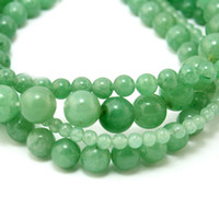 green jade stone - mm mm mm mm Natural High quality charms Green Aventurine Round Jade Stone Beads fit for bracelet BTB133