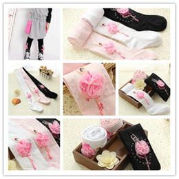 Wholesale Pc New Fashion Girls Socks Cute Kids Toddlers Dancing Girls Soft Ballet Cotton Socks Girls Pantyhose IC673607