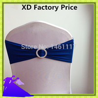 best chair covers - Cheap price Best quality royal blue spandex chair sash for chair band fancy wedding chair cover sash
