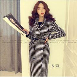 Discount Ladies Office Coat Dresses | 2017 Ladies Office Coat ...