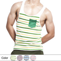 Wholesale Fashion Men Tank Tops Tees Undershirts Soft Cotton Fabric Quality Guarantee