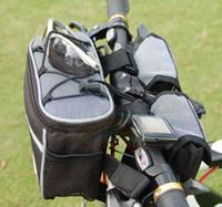 achat en gros de cyclisme vélos de prix de gros-Gros-Livraison gratuite Les prix de gros sac 4 en 1 vélo sac d'accessoires de vélo sacs de vélo de vélo Nouveau paquet de vélos de style de vélo pliable