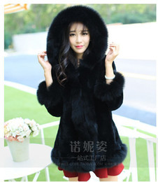 Discount White Faux Fur Coat Hood   2017 White Faux Fur Coat Hood ...