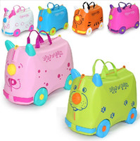 Wholesale Lovely Luggage Years Suitcase Children Toy Baby Child Travel Cartoon Travel Trolley Bag Child Rolling Luggage Baby Toys Kids