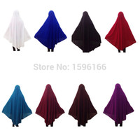 Gros-Matching facile Overhead Abaya Jilbab robe islamique musulman prière robe longue