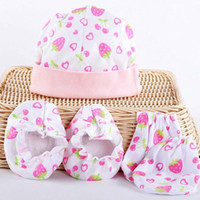 baby skin care products - sets Baby warm gloves skin care set hat amp mittens amp foot sets cover newborn protection product months free