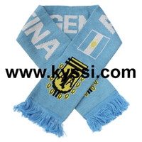 afa soccer - Argentina Knitting Jacquard Footall Scarf AFA Argentina Football Association Knitting Soccer Scarf Football Scarf