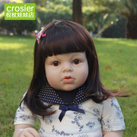 baby doll fashion tops - cm handmade arianna lifelike reborn toddler doll baby dolls fashion doll Christmas gift real touch TOP