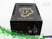 Wholesale LED Digital Tattoo Power Supply System With Plug Foot Petal Clip Cord For Kit Machine Needles Supply