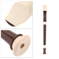 baroque instruments - Swan Clarinet Holes Baroque Alto Clarinet Recorder Professional Music Instrument with Cleaning Stick