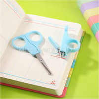 baby manicure set - Baby Antiskid Nail Clippers Nail Scissors Household Goods Care Manicure Set Hot